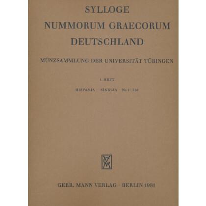 Hispania - Sikelia Nr. 1 - 730 - Sylloge Nummorum Graecorum Deutschland. Münzsammlung der Universität Tübingen