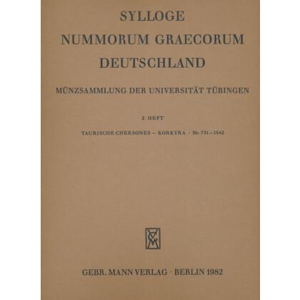 Taurischer Chersones - Korkyra Nr. 731 - 1542 - Sylloge Nummorum Graecorum Deutschland. Münzsammlung der Universität Tübingen