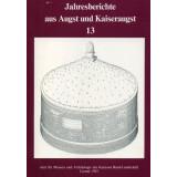 Jahresberichte aus Augst und Kaiseraugst, Band 13 - 1992