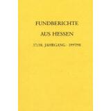 Fundberichte aus Hessen 37 und 38 Jahrgang 1997 - 98