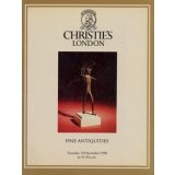 Fine Antiquities - Christies London, Tuesday 10 December...
