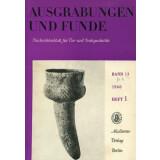 Ausgrabungen und Funde, Band 13 - 1968 Heft 1 - 6
