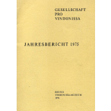 Jahresbericht der Gesellschaft pro Vindonissa 1975