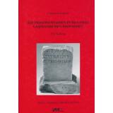 Die Personennamen in den zwei germanischen Provinzen - Ein Katalog. Band 2,1 - Die Cognomina ABAIUS - LYSIAS