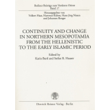 Continuity and Change in Northern Mesopotamia from the...