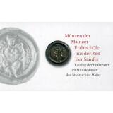 Münzen der Erzbischöfe aus der Zeit der Staufer...