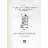 Die datierten Handschriften der Österreichischen...