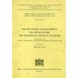 Die deutschen Handschriften des Mittelalters der Erzabtei...