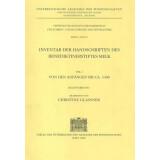 Inventar der Handschriften des Benediktinerstiftes Melk...