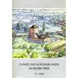 Funde und Ausgrabungen im Bezirk Trier 32 - 2000