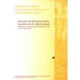 Deutsch als Wissenschaftssprache im 20. Jahrhundert