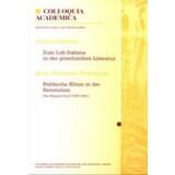 Zum Lob Italiens in der griechischen Literatur -...