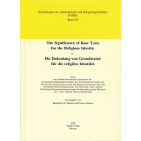 The Significance of Base Texts for the Religious Identity...