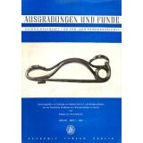 Ausgrabungen und Funde, Band 3 - 1958 Heft 1 - 6  -...
