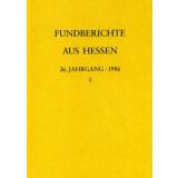 Fundberichte aus Hessen Jahrgang 26 - 1986, 2 Bände