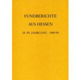 Fundberichte aus Hessen Jahrgang 29 und 30 - 1989-90