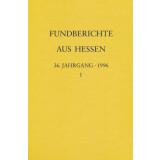 Fundberichte aus Hessen Jahrgang 36 - 1996