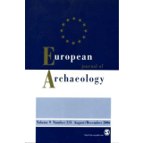 European Journal of Archaeology Volume 9 Number 2/3 2006