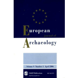 European Journal of Archaeology Volume 9 Number 1 2006