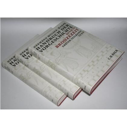 Handbuch der Vorgeschichte, Band 4 - Bronzezeit. 3 Bände