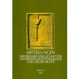 Mitteilungen der Berliner Gesellschaft für...