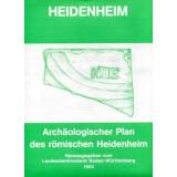 HEIDENHEIM - Archäologischer Plan des römischen...