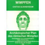 WIMPFEN - Archäologischer Plan des römischen...