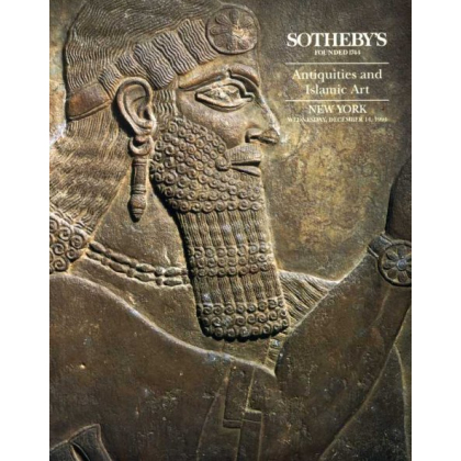 Sothebys Antiquities - New York - Wednesday 14 December, 1994 - Auction Catalogs