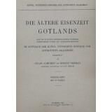 Die ältere Eisenzeit Gotlands - Nach den in Statens...