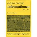 Völkerwanderung - Migration. Archäologische...