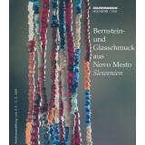 Bernstein- und Glasschmuck aus Novo Mesto, Slowenien