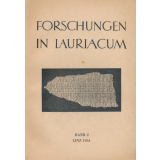 Forschungen in Lauriacum, Band 2