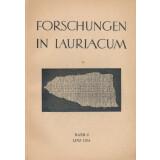 Forschungen in Lauriacum, Band 2