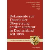 Dokumente zur Theorie der Übersetzung antiker...