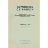 Römisches Österreich, Band 3 - 1975