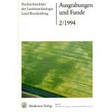 Ausgrabungen und Funde, Band 39 - 1994 Heft 2