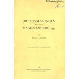 Die Ausgrabungen auf dem Magdalensberg 1953