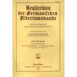 Reallexikon der Germanischen Altertumskunde - zweiter...