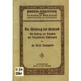 Die Alteburg bei Arnstadt - Ein Beitrag zur Kenntnis der...