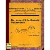 Die Steinzeitliche Keramik Ostpreußens