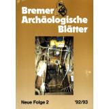 Bremer Archäologische Blätter - Neue Folge, Band 2