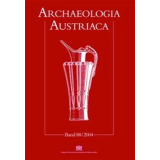 Archaeologia Austriaca, Band 92 - 2008