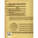 Germanische Urzeit in Oberschlesien