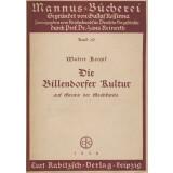 Die Billendorfer Kultur auf Grund der Grabfunde
