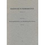 Die Reihengräberfelder von Heidelberg-Kirchheim