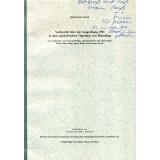 Vorbericht über die Ausgrabung 1985 in dem...