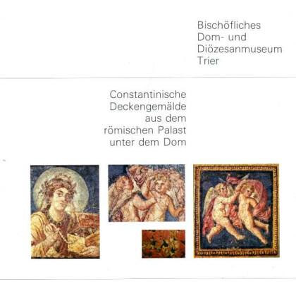 Constantinische Deckengemälde aus dem römischen Palast unter dem Dom