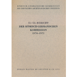 Bericht der Römisch Germanischen Kommission, Band...