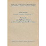 Beiheft zum Bericht der Römisch-Germanischen...