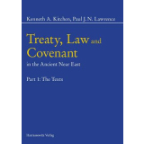 Treaty, Law and Covenant in the Ancient Near East